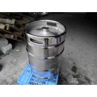 China Large Stainless Steel Beer Keg Electro Polishing 15.5 Gallon Keg SGS FDA Certificated wholesale