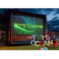 China OEM Inflatable Outdoor Movie Screen / Custom Inflatable Advertising For Cinema wholesale
