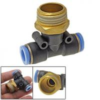 compressed air fittings Polymer push-in fitting for compressed air