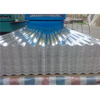 China 29 Gauge Aluminum Corrugated Roof Panels / Roofing Sheet Easy Installation wholesale