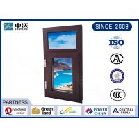China Aluminum Alloy Fire Resistant Windows With Manual Switch High Strength wholesale