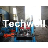 Quality C Section Channel Roll Forming Machine with Gearbox Drive for Making Steel C for sale