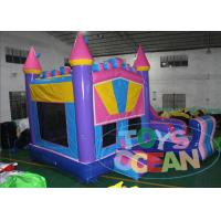 China Girl Party Inflatable Bouncer Combo , Outdoor Inflatable Slide Toddler Bounce House wholesale