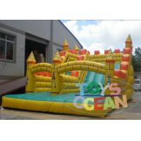 China New Design Yellow Ant Kingdom Theme Inflatable Water Slides For Outdoor Park wholesale