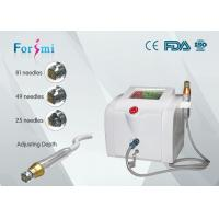 China Portable skin rejuvenation micro needle fractional rf machine with 0.5-3mm depth wholesale
