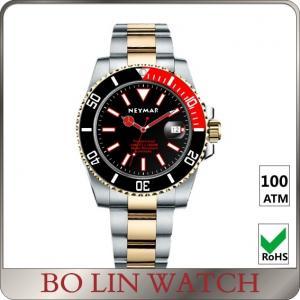 Mechanical Black Female / Mens Dive Watches , 200m Deepest Digital Dive Watch