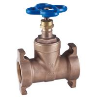 China brass water gate valve non-rising stem, Screwed in Bonnet wholesale