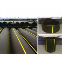 Buy cheap A heat docking or fused connection polyethylene PE gas pipe fittings from wholesalers