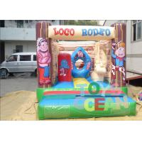 China Aboriginal People Fun Inflatable Bounce House For Amusement Park For Kids wholesale