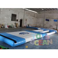 China Amusement Inflatable Water Park Adult Floating Aqua Run Water Park For Pool wholesale