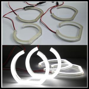 China Crystal SMD LED Angel Eyes headlight halo ring for BMW F30 F35 E90 sedan E92 coupe white wholesale