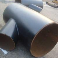 China DN500*300 45 Degree carbon steel welded lateral tee tube connector wholesale