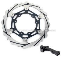 China Oversize 270mm Motorcycle Brake Disc Stainless Steel Disc Material on sale
