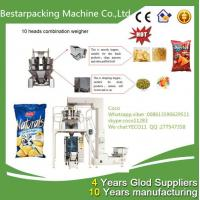 China 10 heads weigher vertical auto potato chip packaging machine wholesale