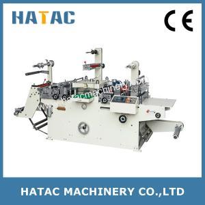 China Flatten Stickers Die Cutting Machine,Perlescent Film Punching Machine,Metal Plate Embossing Machine on sale