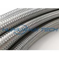 China Metallized Mylar Stainless Steel Braided Cable Sleeving High Physical Strength on sale