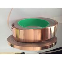 Quality 12mm x 50m Copper Foil Tape with Conductive Adhesive for EMI Shielding for sale