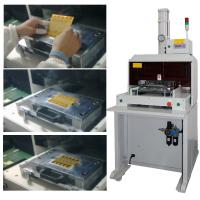 China FPC PCB Punching Machine For Iphone 6 Plus , 0.45-0.70 PA Depression SMT Punch wholesale