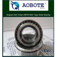 China Timken Automotive Engineering Tapered Roller Bearing of Single row 1997X / 1922 wholesale