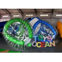 China Excited 1mm PVC Inflatable Water Game Barf Ball For Sea Ocean Towable Game wholesale