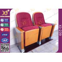 China Church Type Fabric Auditorium Theater Chairs For Bishop And Pastor wholesale