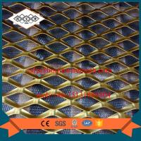 China factory supplier false ceiling aluminum expanded metal mesh with powder coating wholesale