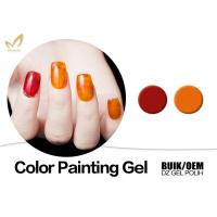 China Beauty Nail Painting Design Gel Nail Art Paint With Different Size No Smudging wholesale