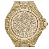 Quality Michael Kors MK5862 MK5869 MK5720 Camille Crysta Pave Quartz Stainless Rose Gold MK WristWatch for sale