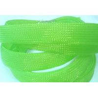 China UL VW-1 expandable braided polyester sleeving For Cable Protection on sale