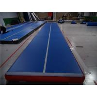 China Weather Proof Portable Air Tumble Track Mats For Rentals Wear Resistance wholesale