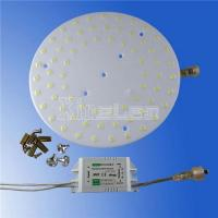 China Diameter 400mm 40W 3600LM round led suspended ceiling light panel wholesale