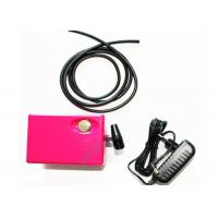 China Lightweight 12 Volt DC 3 Colors Airbrush Mini Air Compressor for Makeup , Cosmetics , Tattoo wholesale