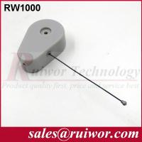 China Anti Theft CableFor Ring Display Store , Parts Feeding Retractable Security Cable wholesale