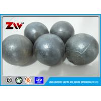 China HRC 45-48 Medium chrome cast steel Grinding Balls For Ball Mill Cr 5 wholesale
