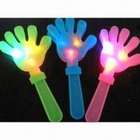 China LED Flashing Hand Clapper Toys with Cool Design, Used as Party Supplies wholesale
