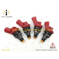 China Red 188U1-CH100 OEM High Performance Fuel Injector , 1000cc Subaru Fuel Injectors wholesale