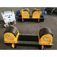 Buy cheap bolt adjustment  pipe welding rollers/welding rotator  with pu wheels for butt fit up welding from wholesalers