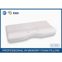 China Polyurethane Molded Magnetic Memory Foam Pillow With Aloe Vera Sign Cover wholesale