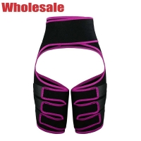 China Neoprene XS Stomach And Thigh Trimmer Pink Three Thigh Straps wholesale