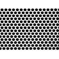 China 3mm Thick Aluminum Perforated Metal, Powder Coated Perforated Alum Sheet AA1100 on sale