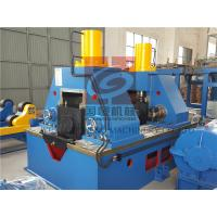 China Hydraulic type H Beam Welding Machine YTJ-80C for Steel Structure with ISO9000&CE Certified wholesale