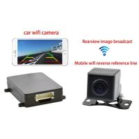 China Android Iphone Small CMOS Wifi Car Backup Camera Megapixel CE wholesale