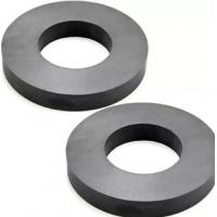 China Hard Ferrite Industrial Strength / Durable Round Ceramic Magnets wholesale