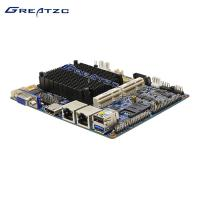 China Mini Fanless Industrial PC Motherboard 3.5 inch 2 LAN Ports Integrated CPU wholesale