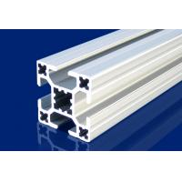 China 4mm T Slot Aluminum Extrusion Profiles Silver For Installment Window , Door wholesale