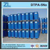 China light yellow DTPA-5Na liquid for textile wholesale