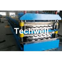China Chain Transmission Double Layer Roll Forming Machines For Corrugated Sheets wholesale