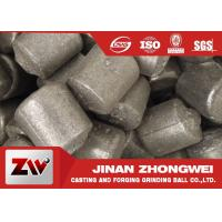 China High chrome / low chrome / medium chrome casting iron cylpebs for building material industry wholesale