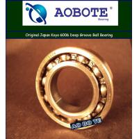 China Japan Koyo 6006 Deep Groove Ball Bearing With Open Seal ABEC-5 wholesale