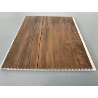 China 10 Inch Wooden laminate ceiling panels Thickness 7.5mm For Ceiling wholesale